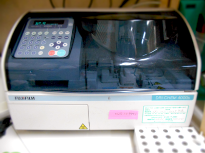 生化学検査機器