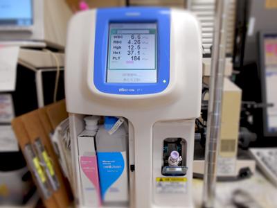 血算測定・CRP定量検査機器